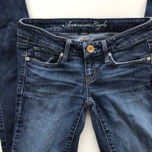 American Eagle Jeans Blue Skinny Stretch